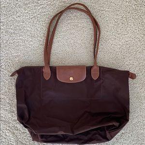 Brown Longchamp Purse